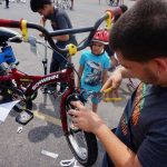 Mobile Bike Repair brings smiles and free fixes to bike shop deserts