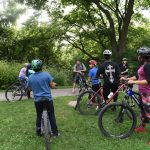 Mountain biking team trains youth for fall races