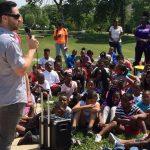 Ryan Braun at SHARP Literacy rally