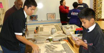 Resident artist brings multicultural mural to Anna F. Doerfler School