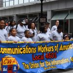 Union members, supporters take to streets in city's Labor Day parade