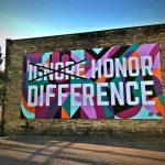 Large, colorful 88Nine Radio Milwaukee mural celebrating diversity completed in Walker's Point neighborhood