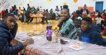 COA hosts its first potluck Thanksgiving dinner