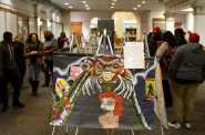 Teen art exhibit spreads awareness about sex trafficking