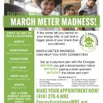 March Meter Madness assisting those who fell behind on energy bills