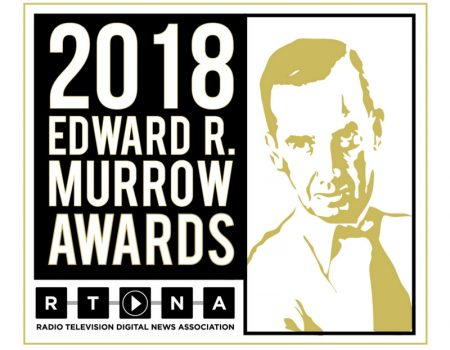 Edward R. Murrow Award logo