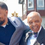 'Dr. Carter' recognized with honorary street sign at 24th and Burleigh