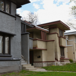 Frank Lloyd Wright lives at Burnham Street and Layton Boulevard