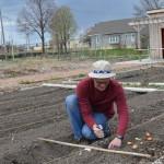 Spring planting begins at Alice's Garden