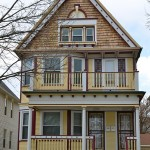 Rehabbed Victorian home upgrades Lindsay Heights block