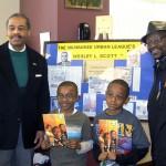 Barbershop promotes literacy, black history