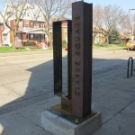 First gateway marker appears in Clarke Square