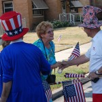 Veteran marks 70 years of Fourth of July parades