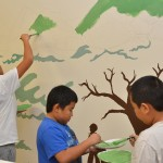 Mural project creates safe place to bridge differences