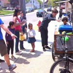 Layton Boulevard West Neighbors shows off new mobile bike hub