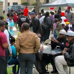 'Positive energy' flows at Heal the Hood block party