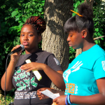 Youth recall violence, encourage peace at North Side gathering