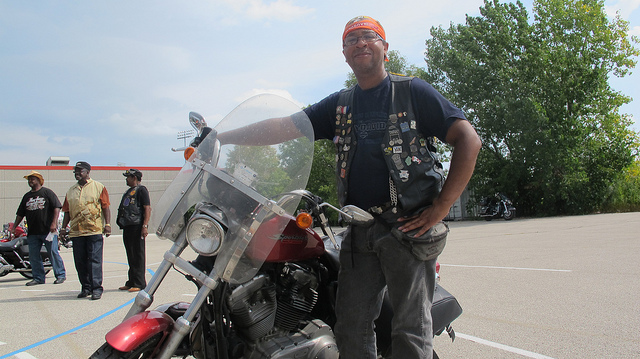 Harley-Davidson hosted street parties for African American and Hispanic riders during its 110th anniversary celebration. (Photo by Rick Brown)