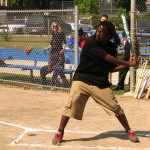 District 3 police, residents bond on the ball diamond