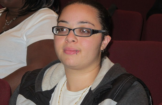 South Side resident Brianna Mason fears being fined if she does not buy health insurance. (Photo by Andrea Waxman)