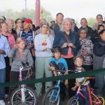 Cyclists applaud scenic slice of KK River Trail