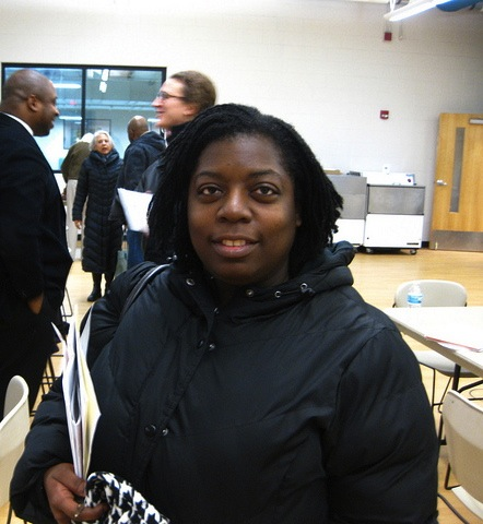 "Lindsay Heights resident and Walnut Way board member Francesca Dawson hopes to see ""residents work together and move ahead"" to change the community. (Photo by Rick Brown)"