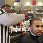 Young professionals celebrate return of Gee's Clippers to King Drive
