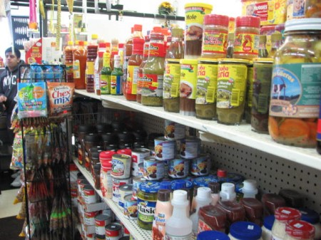 La Tiendita, a corner store in the Burnham Park neighborhood, stocks items that appeal to neighborhood residents. (Photo by Brendan O'Brien)