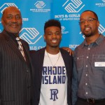 Boys & Girls Clubs member Jarvis Garrett signs with the University of Rhode Island