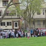 Hundreds clean parks, celebrate community at Basura Bash
