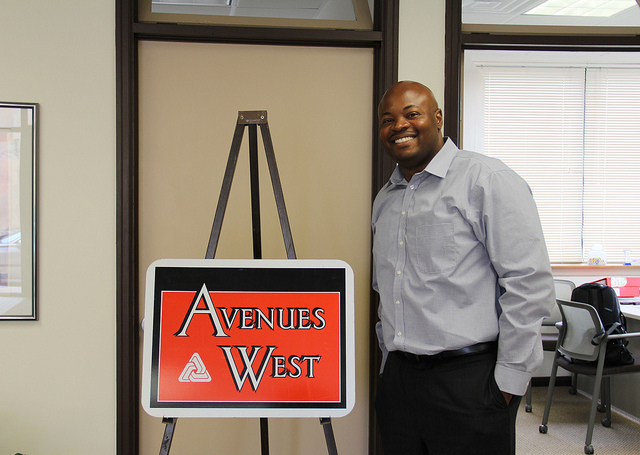 Keith Stanley, executive director of Avenues West Association, is a graduate of ACRE's inaugural class. (Photo by Karen Slattery)
