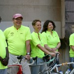 Team Alma bikes 418 miles in Iowa to raise awareness about domestic violence