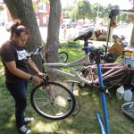 Teen 'bike hub' interns shift gears for the summer