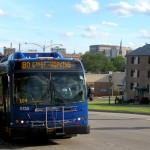 On the Block: Bus serves
