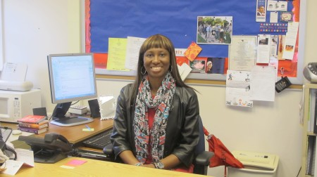 Keona Jones, principal of Thurston Woods, said she is confident the Commitment School initiative will help the K-8 school meet academic standards. (Photo by Molly Rippinger)