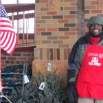 On the Block: Salvation Army bell ringer shares Christmas spirit