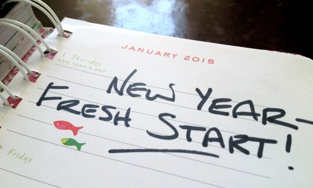 The first day of the year offers a fresh start for those hoping to make positive lifestyle changes in 2015. (Photo by Molly Rippinger)