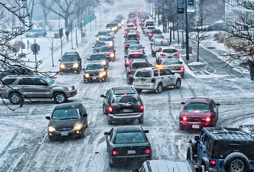 Take the proper steps to prepare for winter weather driving before facing the risks on the road. (Photo courtesy of State Farm Insurance)