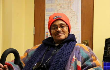 Judy Johnson uses Milwaukee's network of charitable food programs to make ends meet. (Photo by Molly Rippinger)