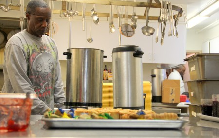 Volunteers are the driving force behind Milwaukee's network of charitable food programs. (Photo by Molly Rippinger)
