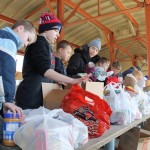 Scouting for food collects 143,864 pounds of food to help feed people facing hunger