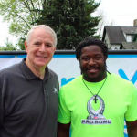 Green Bay Packer Eddie Lacy joins Next Door's 26th Annual Walk for Children