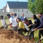 Groundbreaking heralds major improvements to Johnsons Park