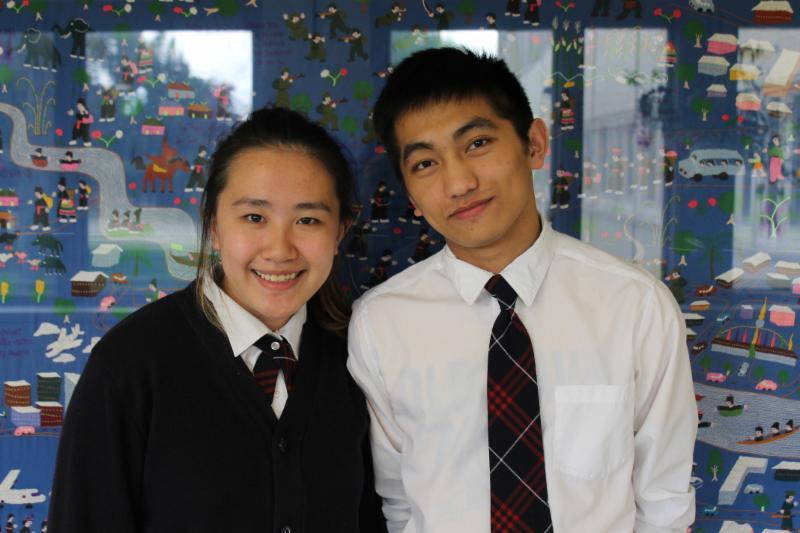 Gates winners Nhia Vang (right) and Kia Vue (left)