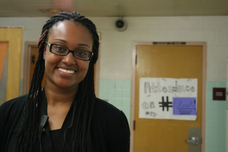 Tianna McCullough, Carver Academy's Instructional Coach for Culture, says the school's culture had to change. (Photo by Jabril Faraj)