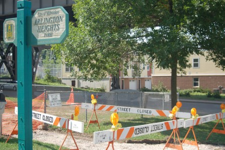The ribbon cutting for Arlington Heights Park, 3629 W. Pierce St., will be held on Sept. 24. (Photo by Edgar Mendez)