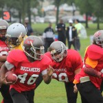 Generations of young men learn about life, football from sports league