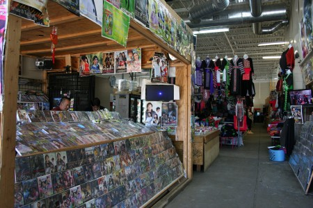 Phongsavan Market offers Asian-themed videos, music, clothing and food. (Photo by Jabril Faraj)