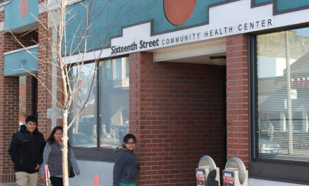 The mental healthcare system is transitioning from county-run centralized institutions to a community-based model with services provided at clinics such at the Sixteenth Street Community Health Center in Clarke Square. (Photo by Matthew Wisla)