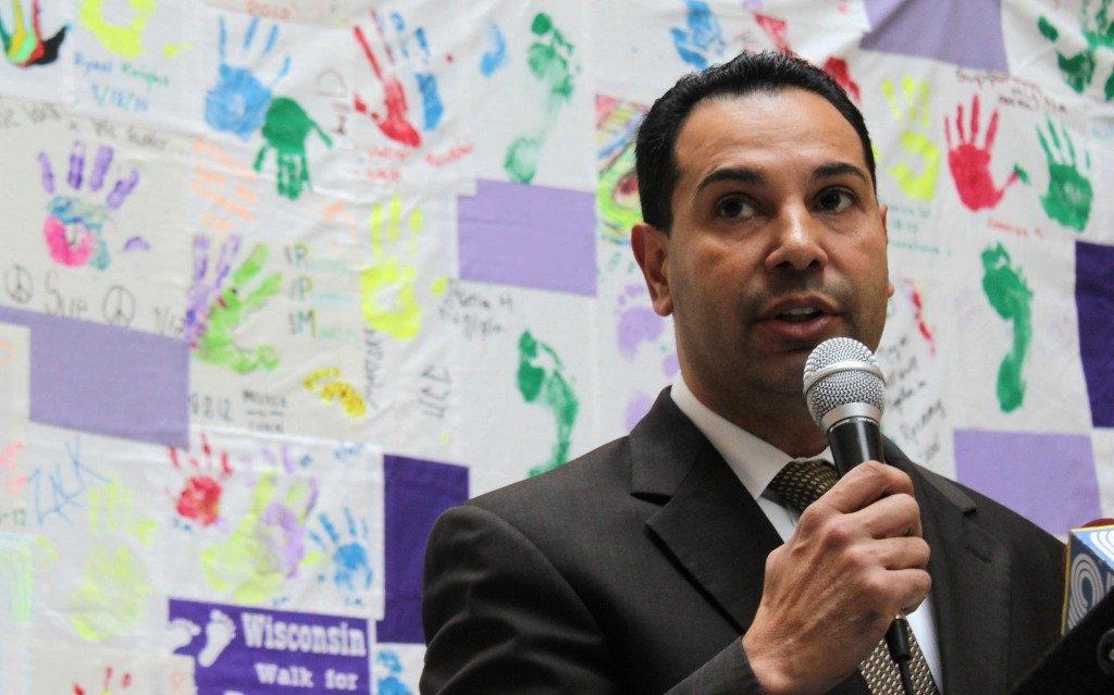 Héctor Colón, director of the Department of Health and Human Services, leads Milwaukee County's efforts to improve a fragmented, complex mental healthcare system. (Photo by Matthew Wisla)
